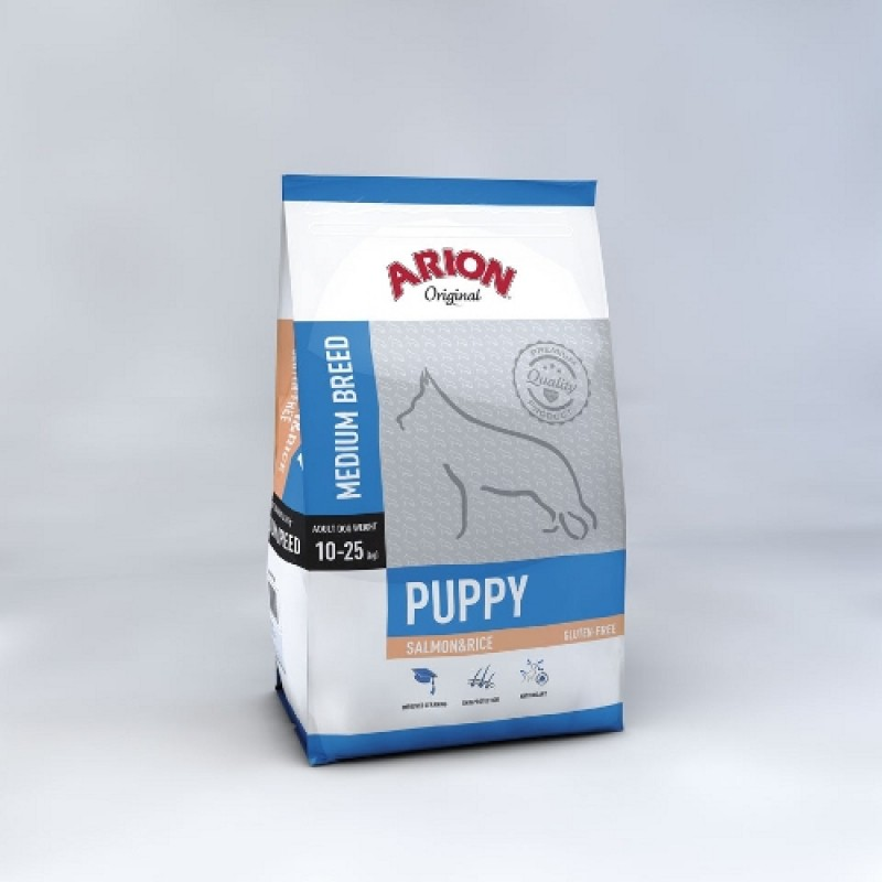 Arion Puppy Medium SalmonandRice 12 kg-31
