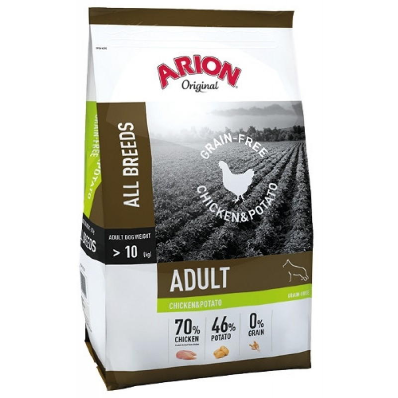 Arion GrainFree ChickenandPptato 12 kg-31