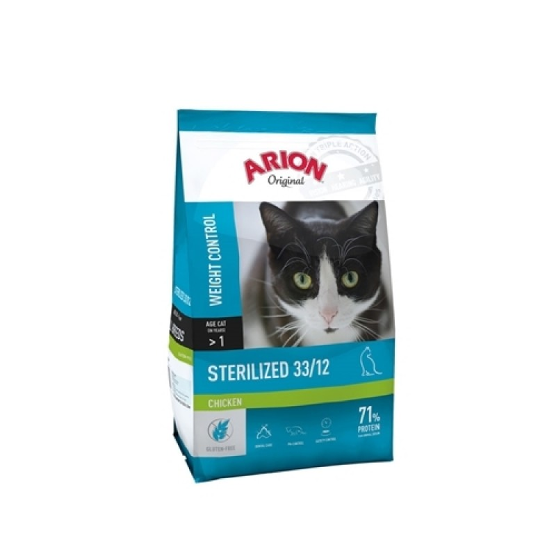 Arion Original Sterilized chicken 7,5 kg-31