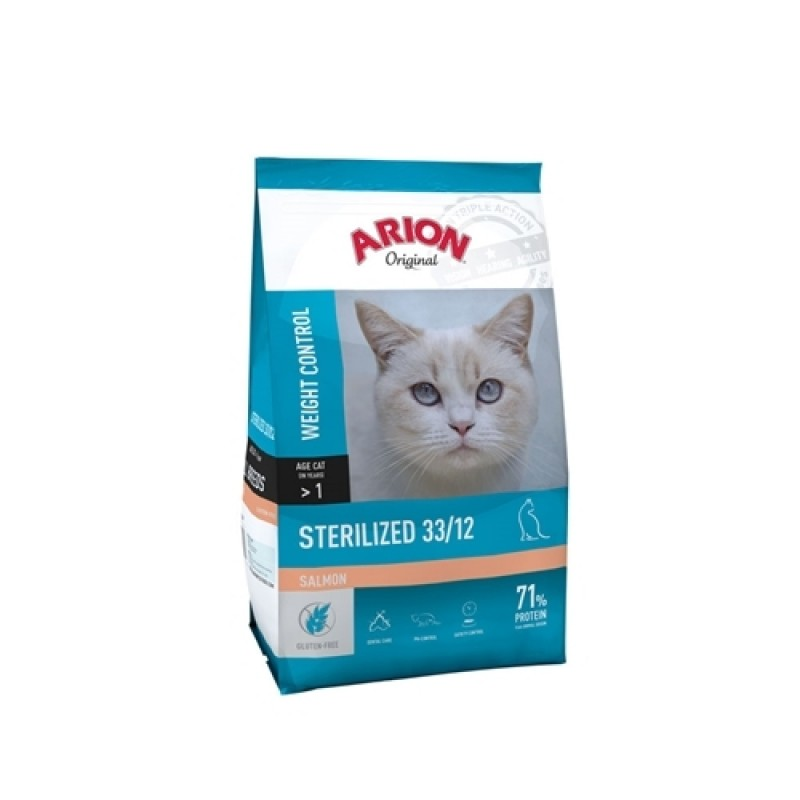 Arion Original Sterilized Salmon 2 kg-31