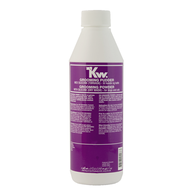 KW Grooming pudder m/silicone 350 g-35