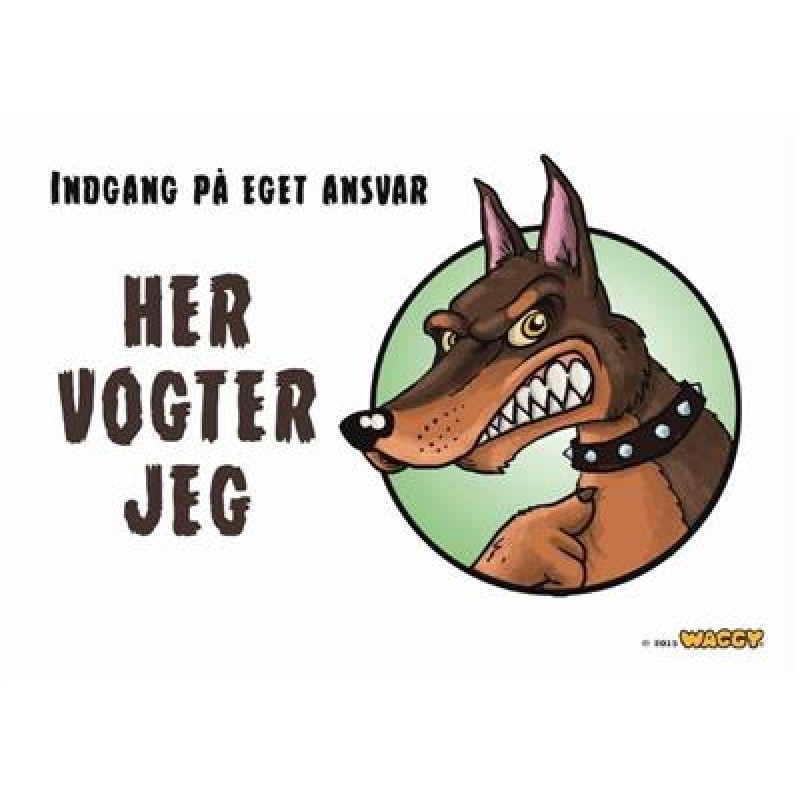 """Waggy """"Her Vogter Jeg""""-33"""
