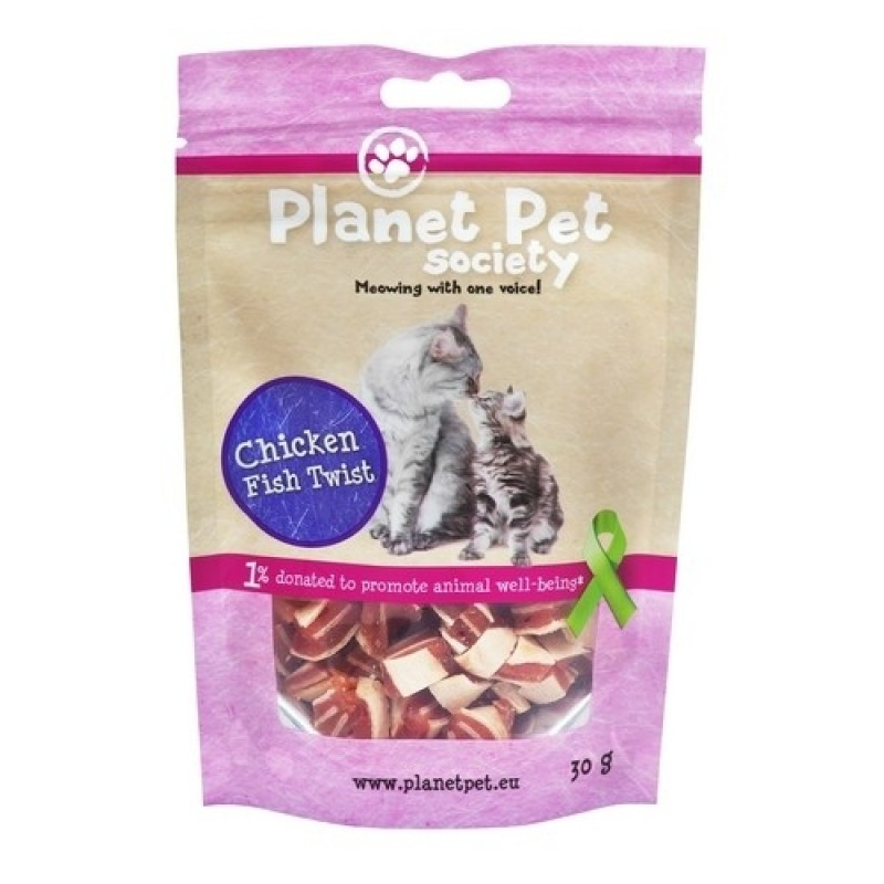 PP Kat Chicken Fish Twist 30 g-31