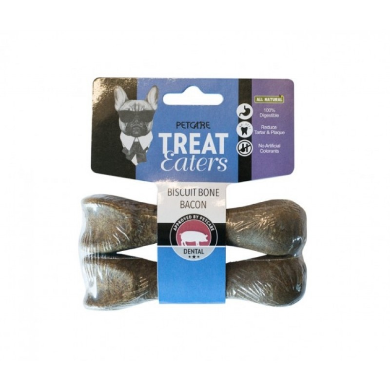 Treat Eaters Biscuit Bone Bacon Small-31