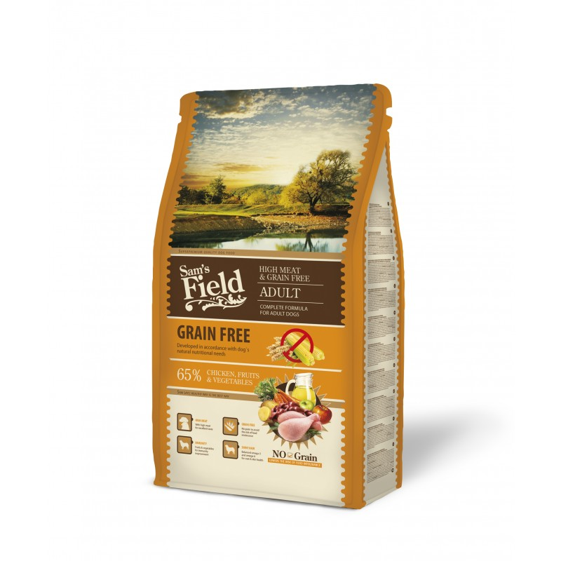 Sam´s Field Grain Free High Meat Chicken 2,5 kg-31