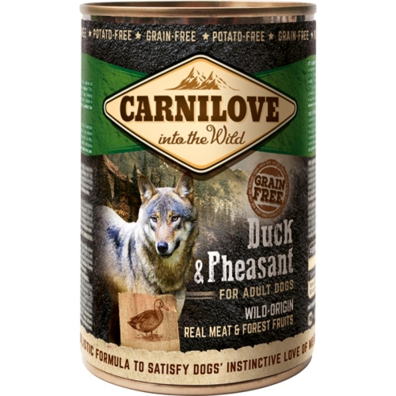 Carnilove Canned Duck and Pheasant 400 g-31