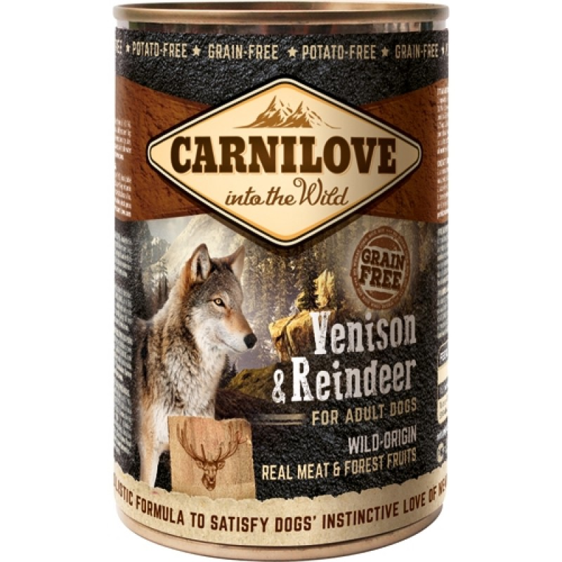 Carnilove Canned Venison and Reindeer 400 g-31
