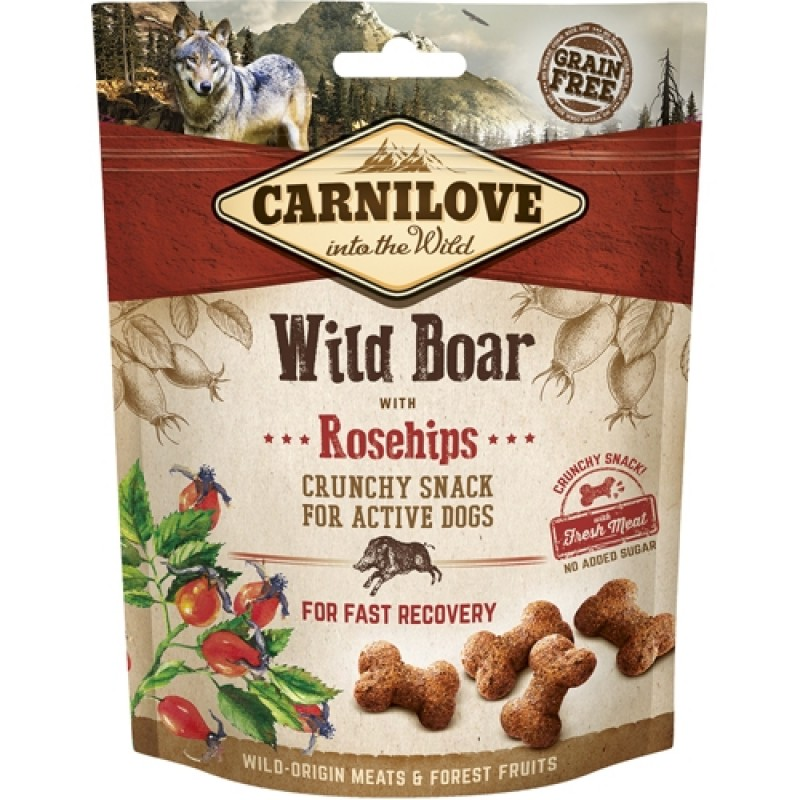 Carnilove into the Wild Dog Crunchy Snack 200 g-31