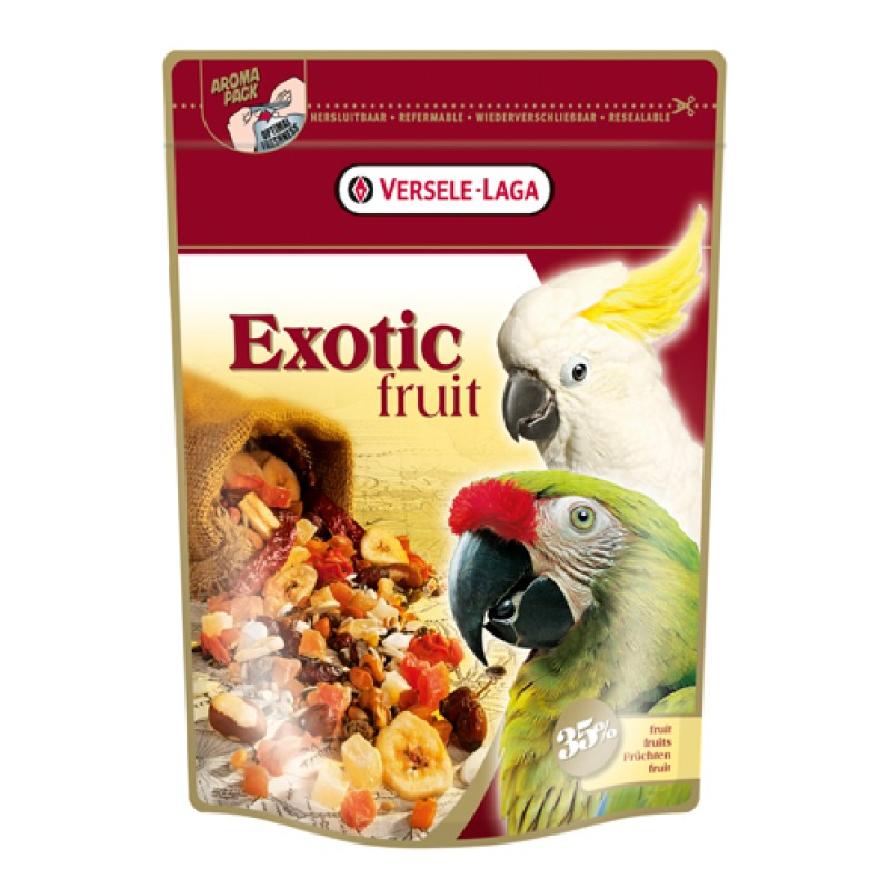 Papegøje Exotic Fruit 600 g-31