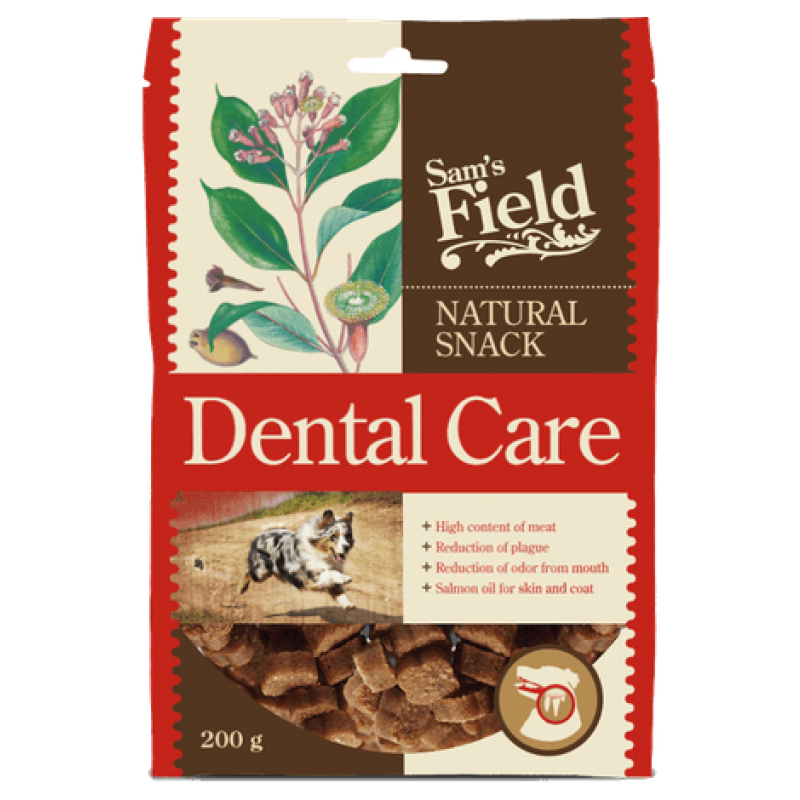 Sam´s Field Natural Snack Dental Care 200 g-31