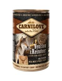 CarniloveCannedVenisonReindeer400g-20