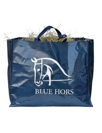Blue hors Hay bag-20