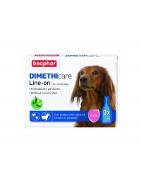 Flea and Tick Line on Small dog-20