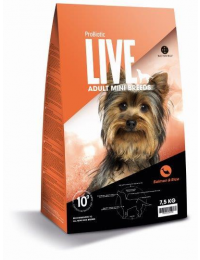 Live adult mini breed laks 7,5 kg-20